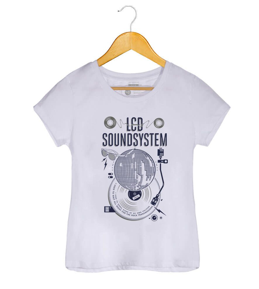 Camiseta Lcd Soundsystem - American Dream - Feminino