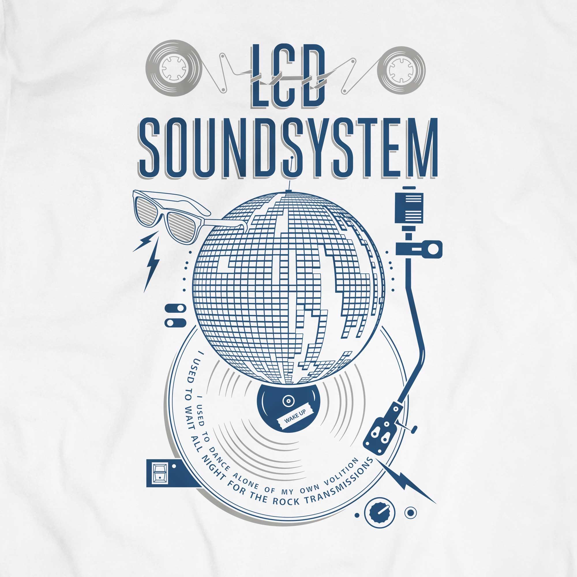 Camiseta Lcd Soundsystem - American Dream - Masculino