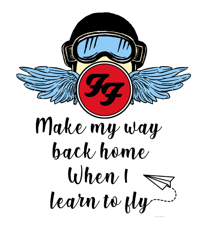 Camiseta - Learn to Fly - Foo Figthers - Feminino