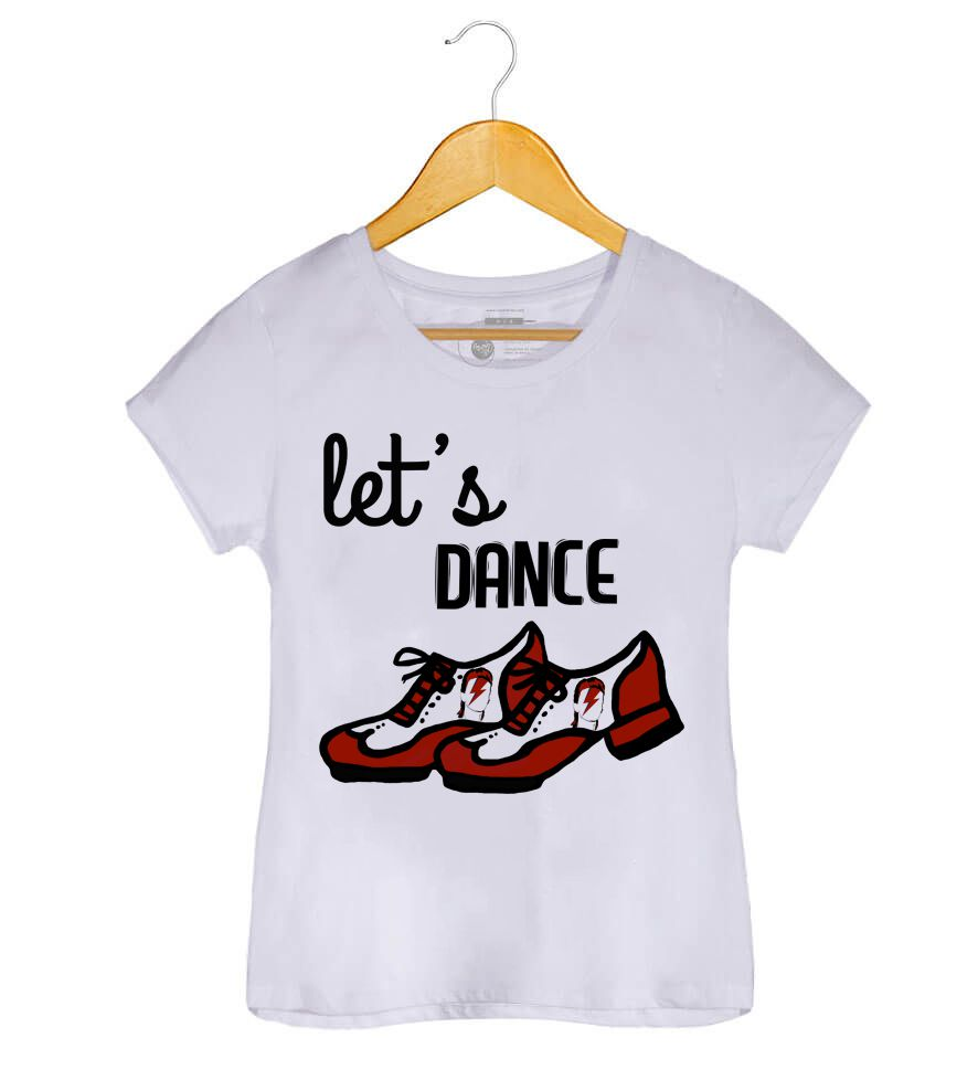 Camiseta - Let's Dance - David Bowie -  Feminino