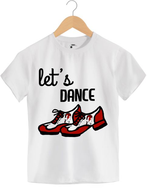 Camiseta - Let's Dance - David Bowie - Infantil