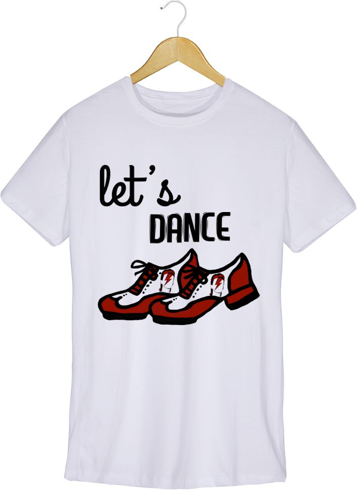 Camiseta - Let's Dance - David Bowie - Masculino