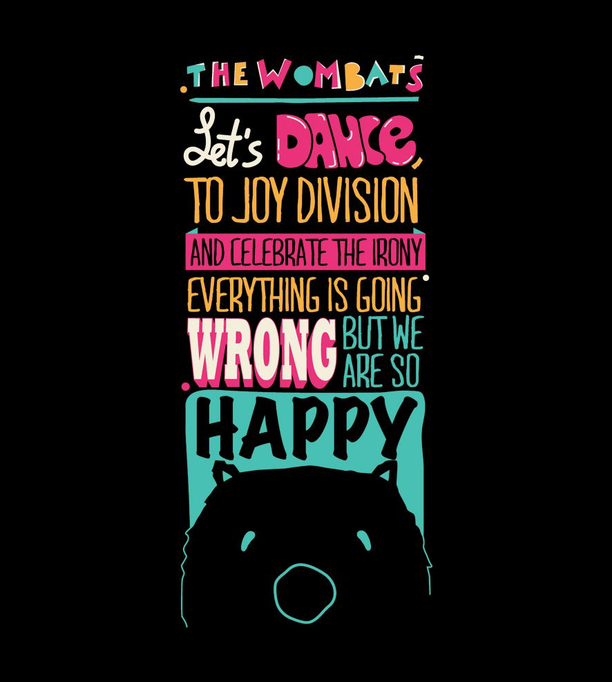 Camiseta - Let's Dance - The Wombats - Feminino