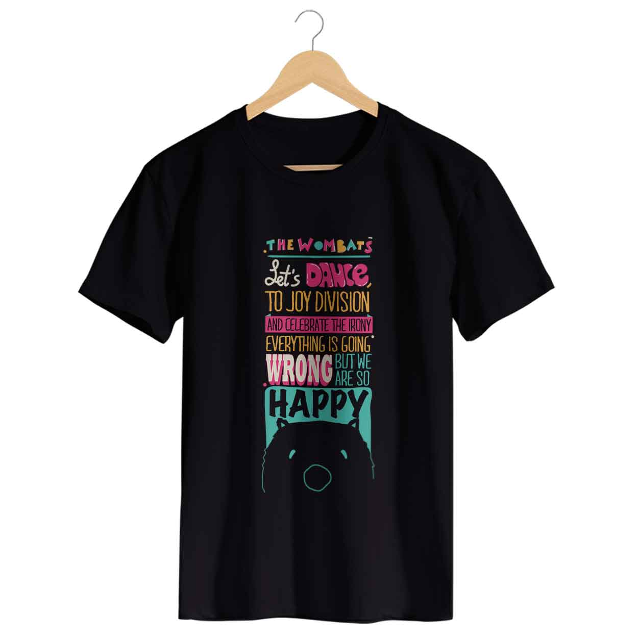 Camiseta - Let's Dance - The Wombats - Masculino