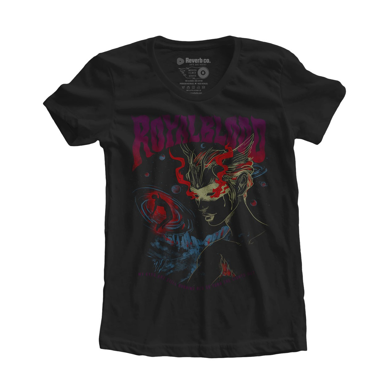 Camiseta Lights Out - Royal Blood - Feminino