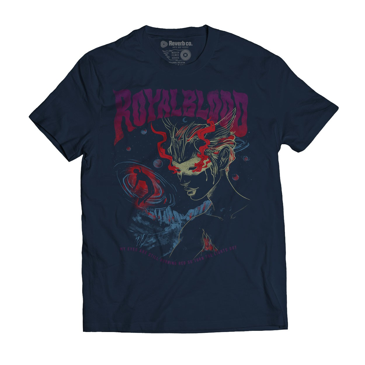 Camiseta Lights Out - Royal Blood - Masculino