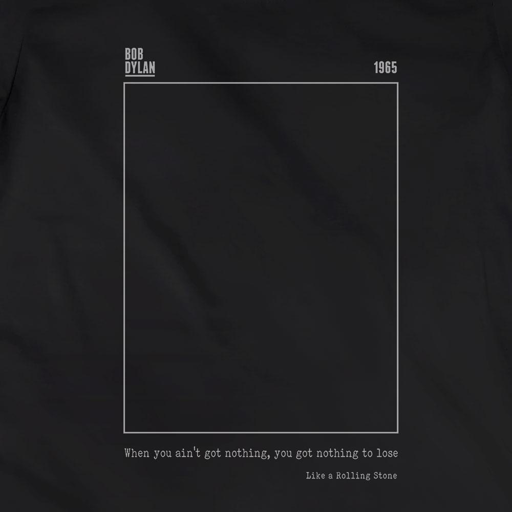 Camiseta Like a Rolling Stone - Bob Dylan - Feminino