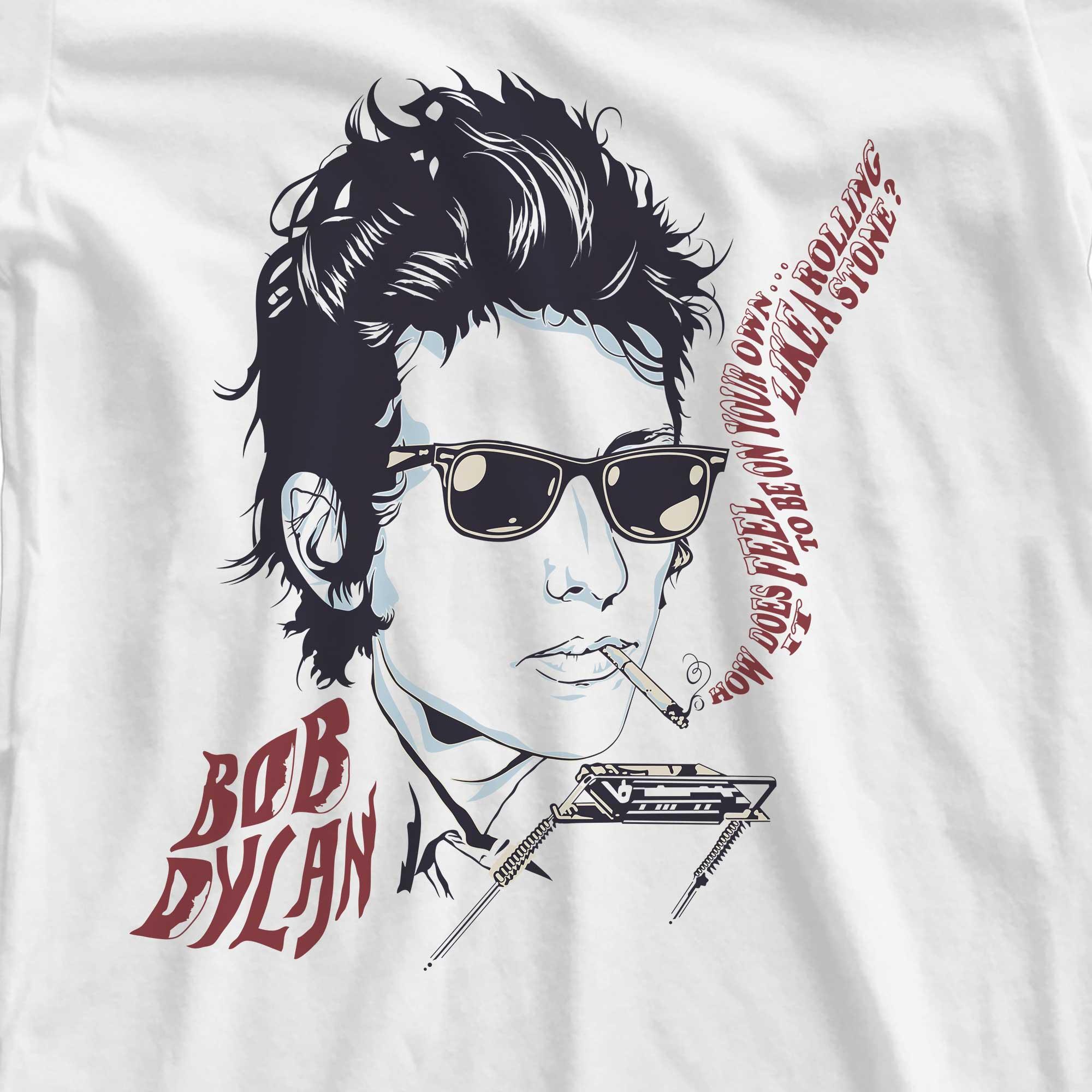 Camiseta Like a Rolling Stones - Bob Dylan - Feminino