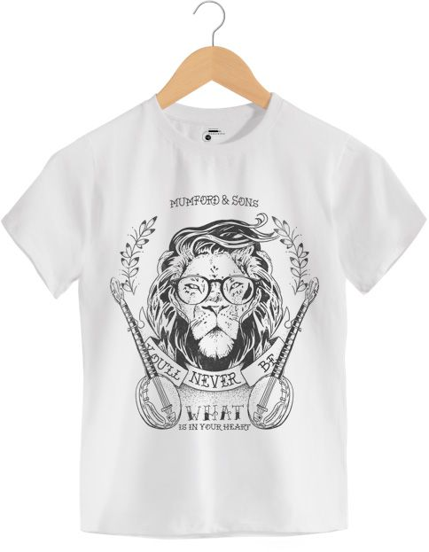 Camiseta - Little Lion Man - Mumford & Sons - Infantil