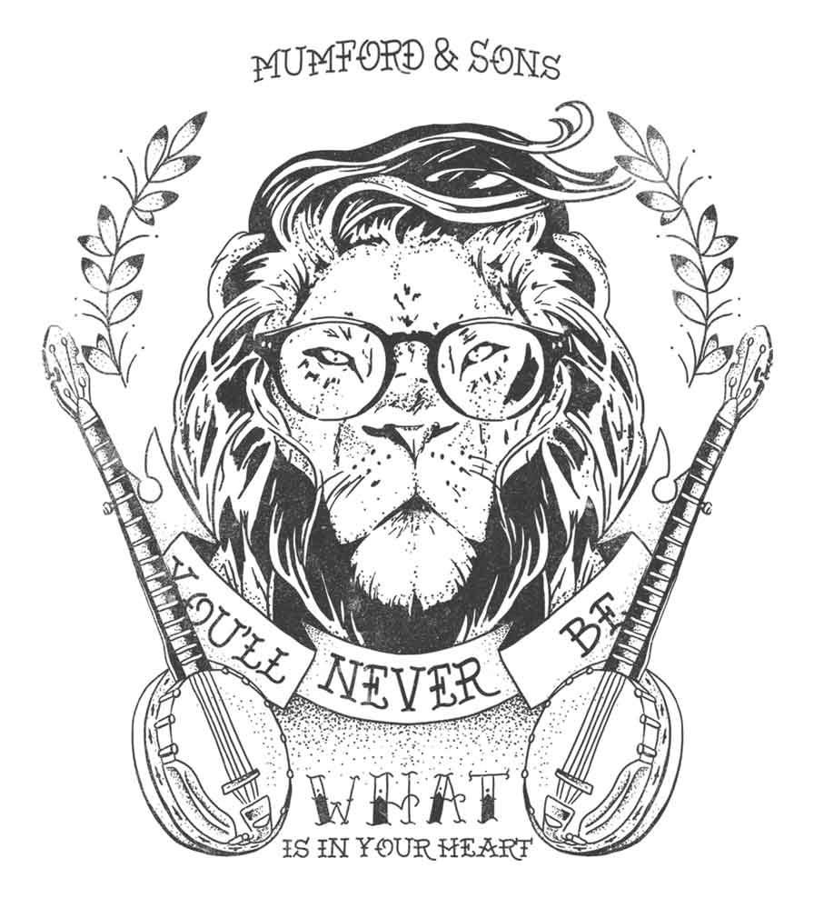 Camiseta - Little Lion Man - Mumford & Sons - Infantil