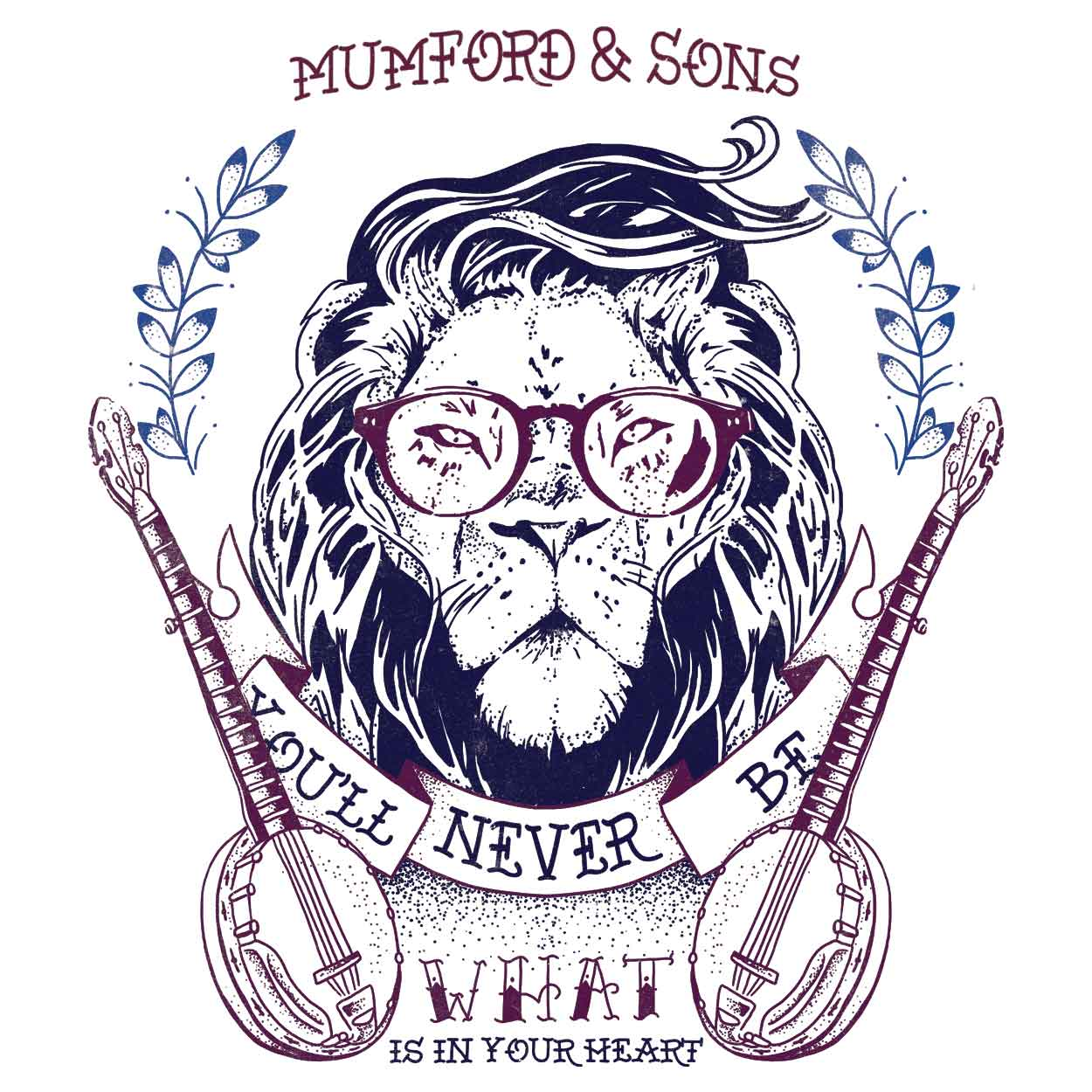 Camiseta Little Lion Man - Mumford & Sons - Infantil