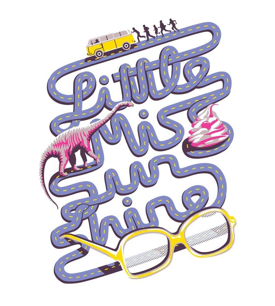 Camiseta Little Miss Sunshine - Infantil