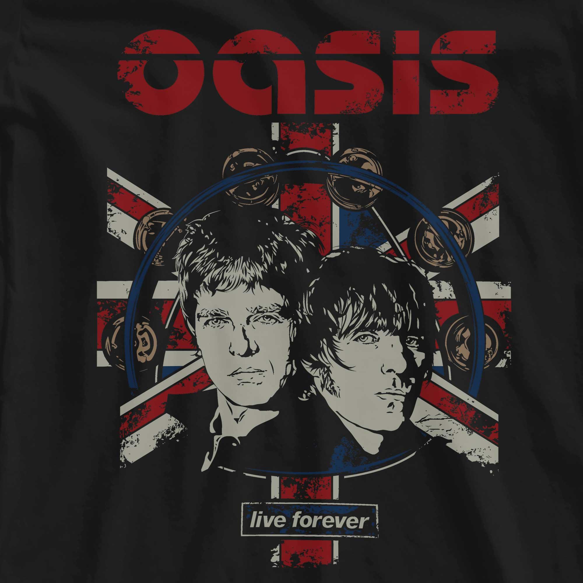 Camiseta Live Forever - Oasis - Feminino