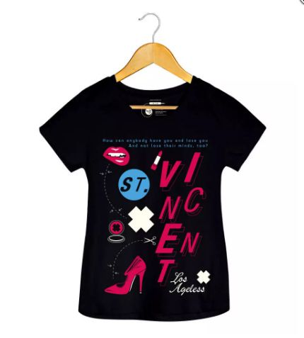 Camiseta - Los Angeles - St. Vincent - Feminino
