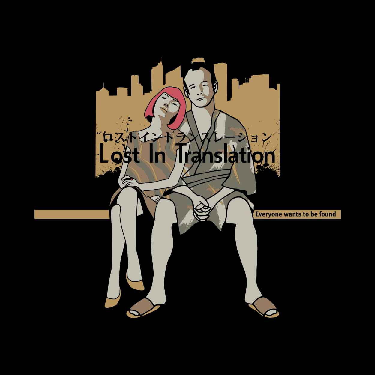 Camiseta - Lost In Translation - Masculino