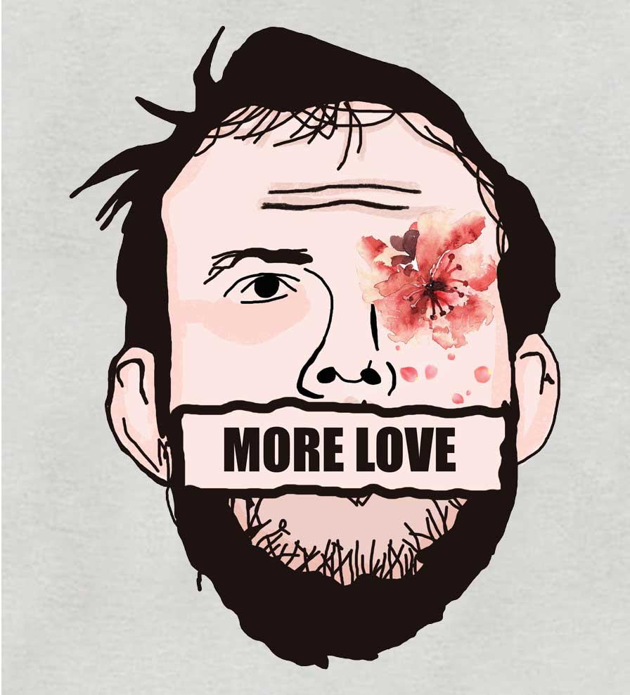 Camiseta - More Love - Bon Iver - Feminino
