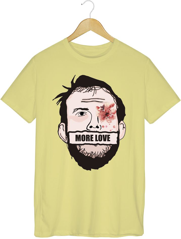 Camiseta - More Love - Bon Iver - Masculino