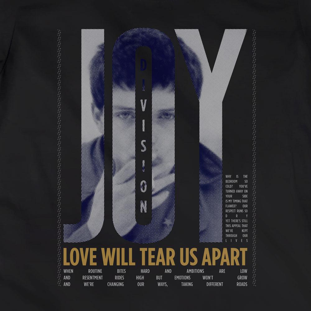 Camiseta Love Will Tear Us Apart - Joy Division - Feminino