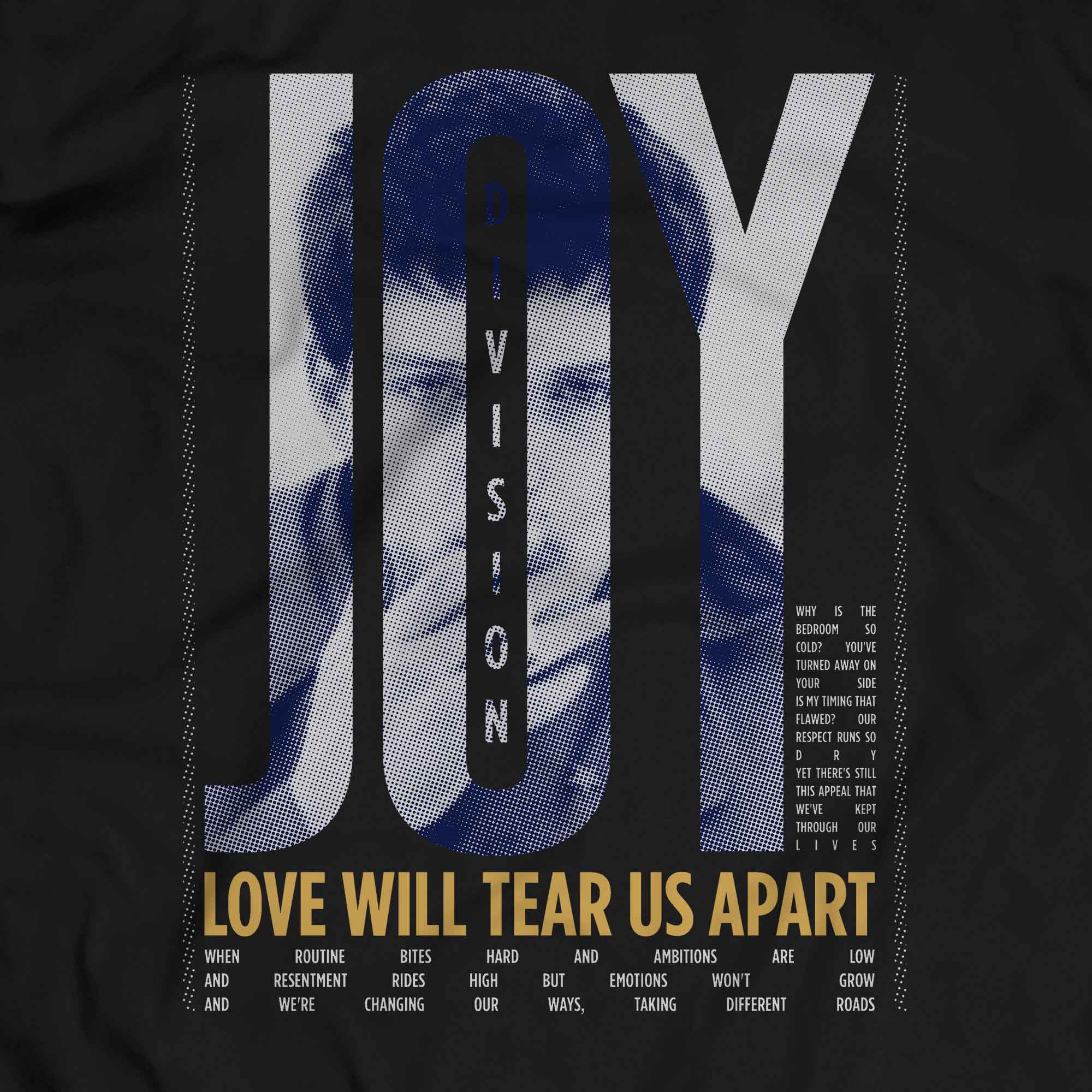 Camiseta Love Will Tear Us Apart - Joy Division - Masculino