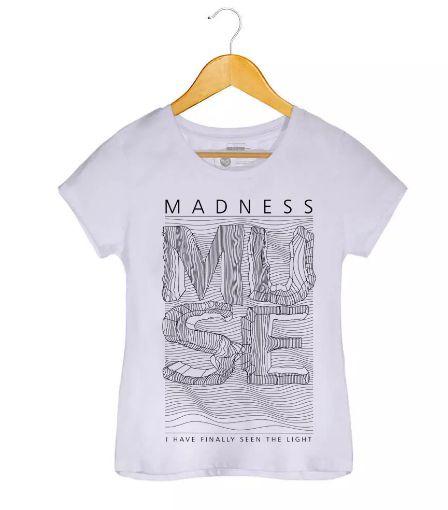 Camiseta - Madness - Muse - Feminino