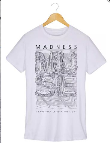 Camiseta - Madness - Muse - Masculino