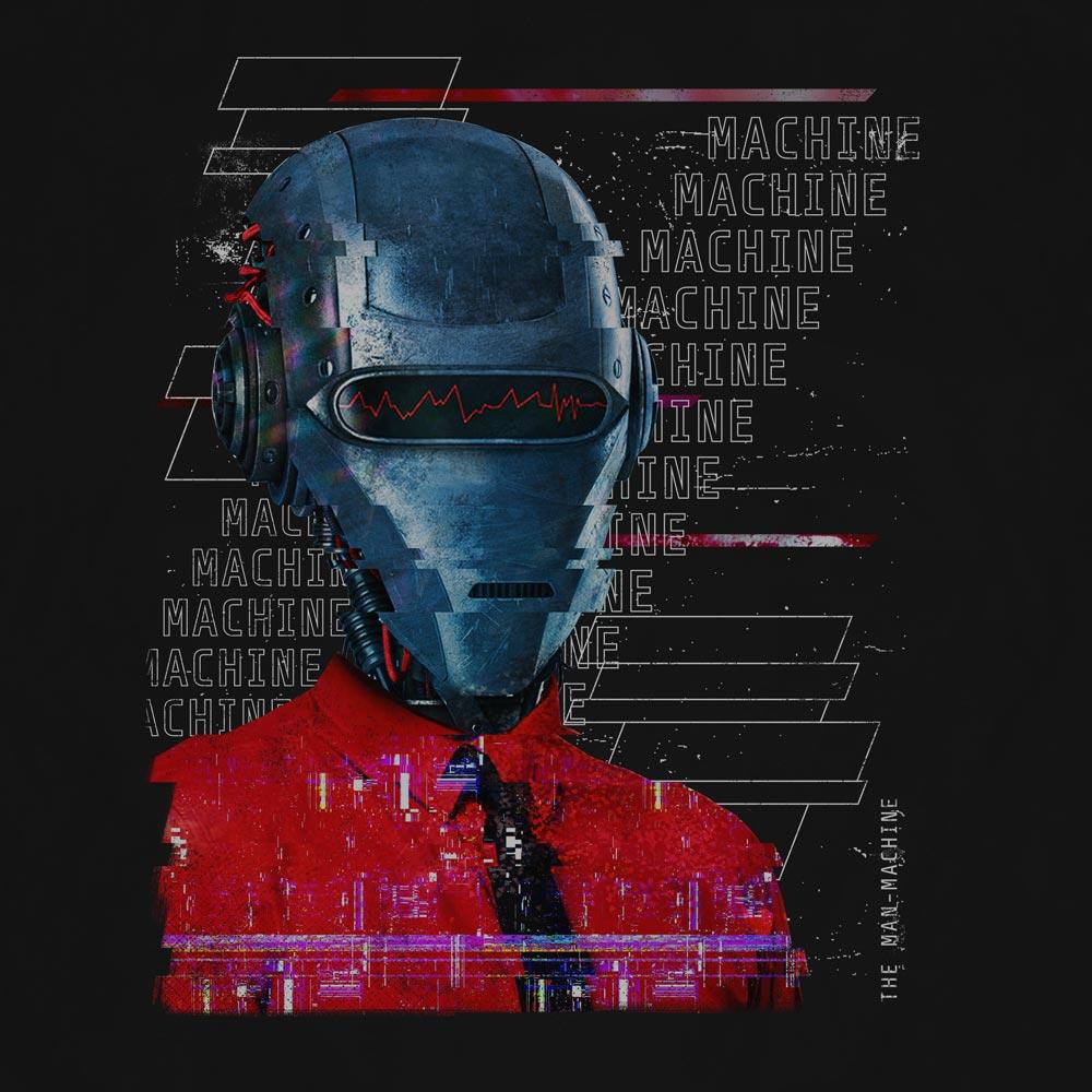 Camiseta Man-Machine - Masculino