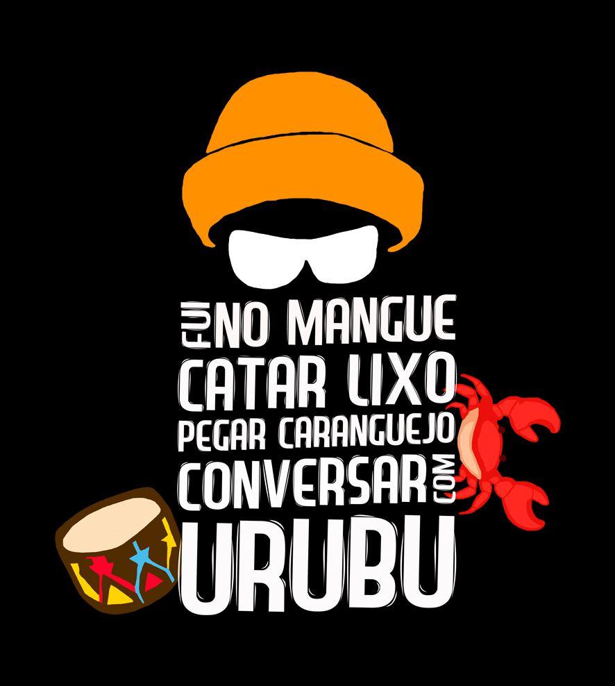 Camiseta - Manguetown - Nação Zumbi - Infantil