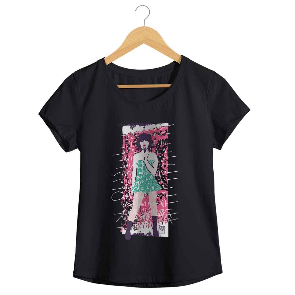 Camiseta Maps - Yeah Yeah Yeah - Feminino
