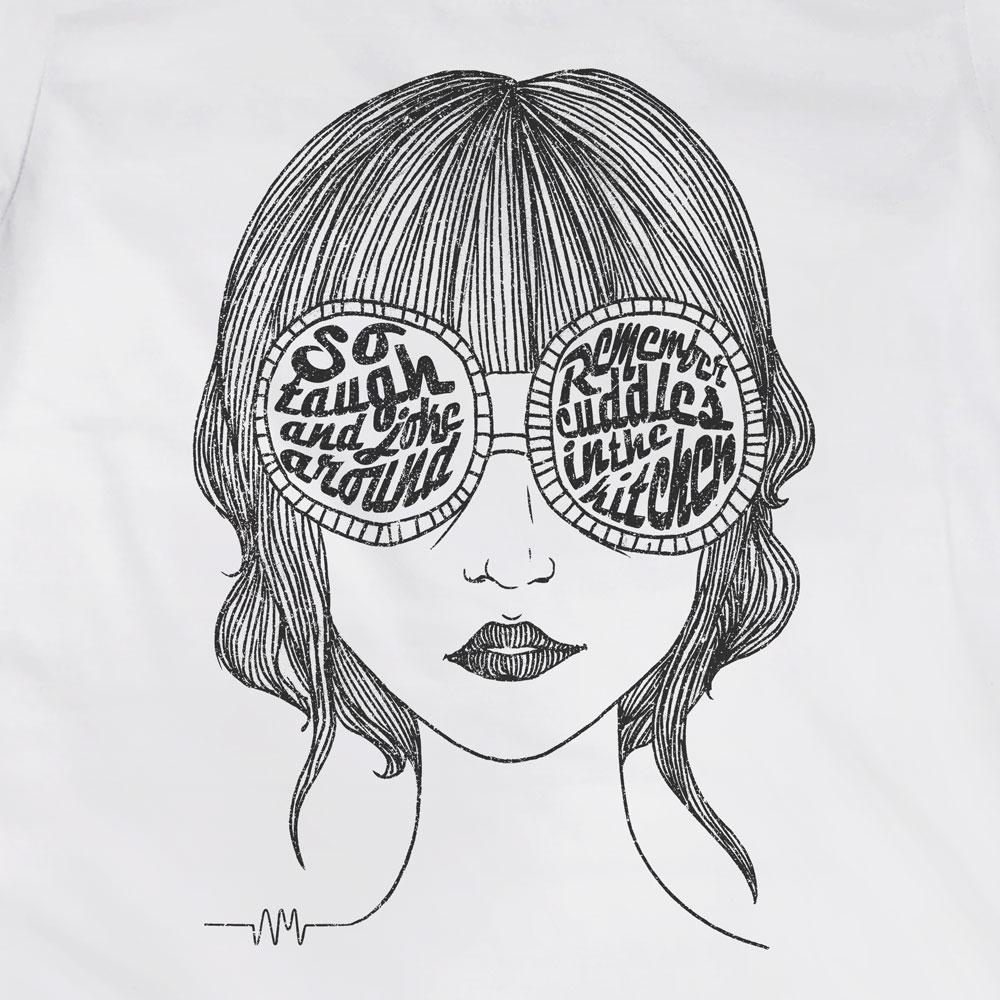 Camiseta Mardy Bum - Arctic Monkeys - Feminino