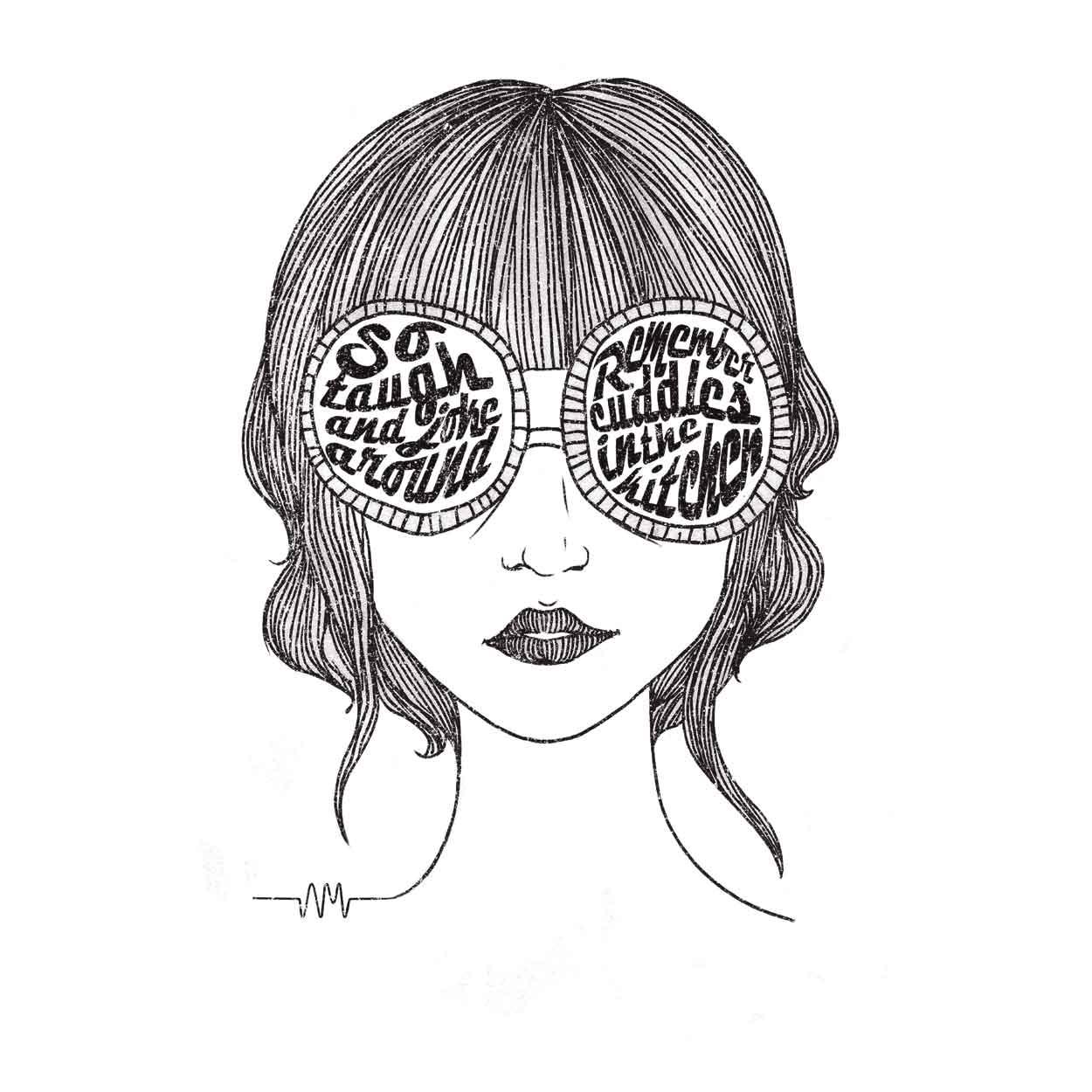 Camiseta Mardy Bum - Arctic Monkeys - Infantil