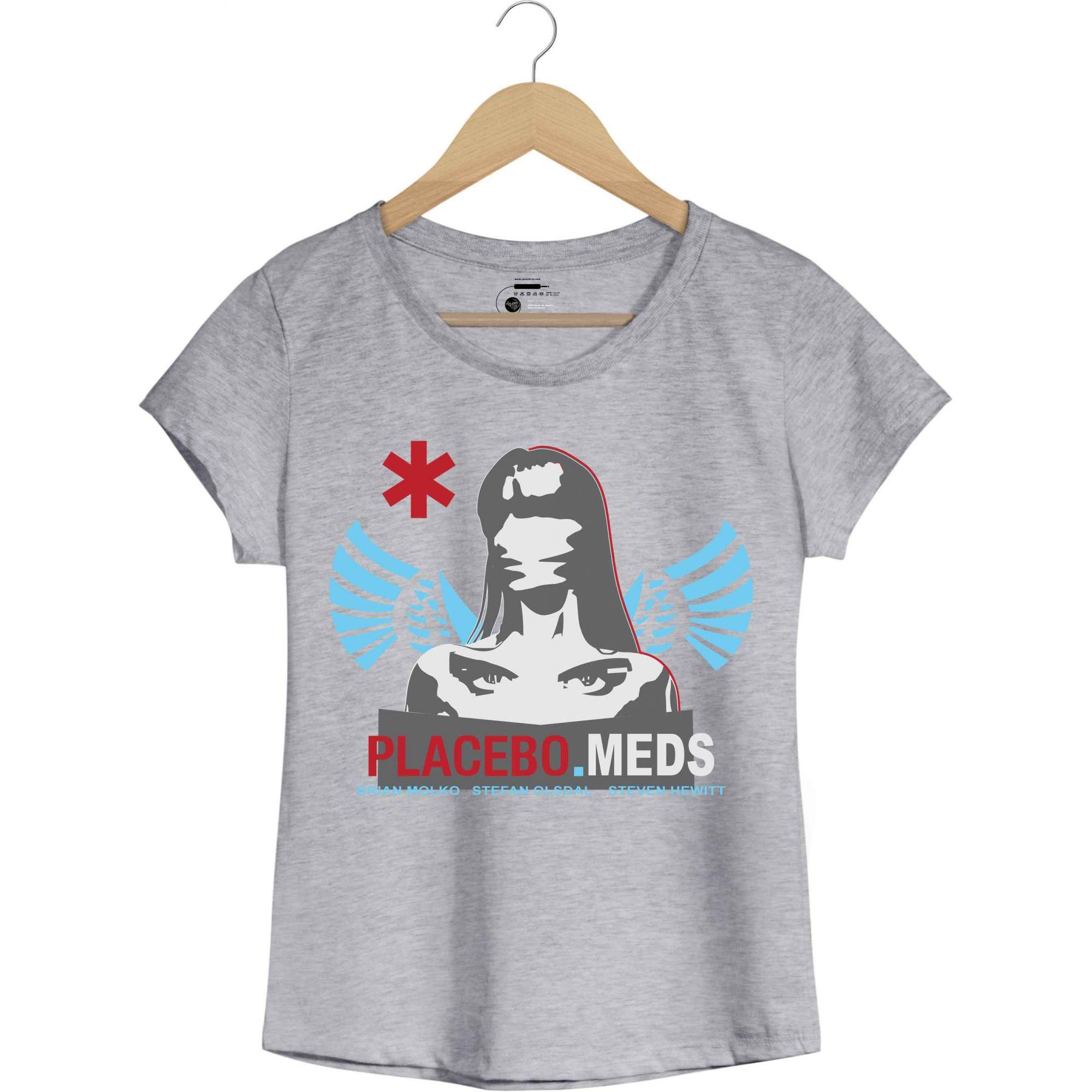 Camiseta - Meds - Placebo - Feminino