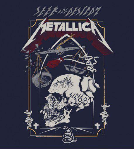 Camiseta - Metallica - Seek and Destroy - Masculino
