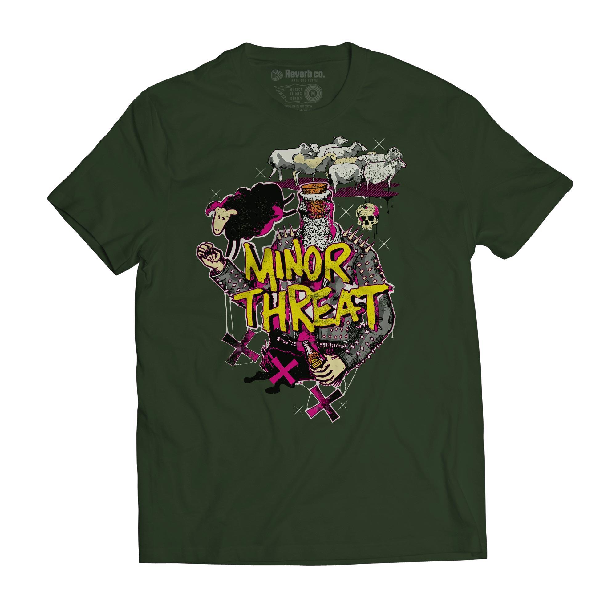 Camiseta Minor Threat - Masculino