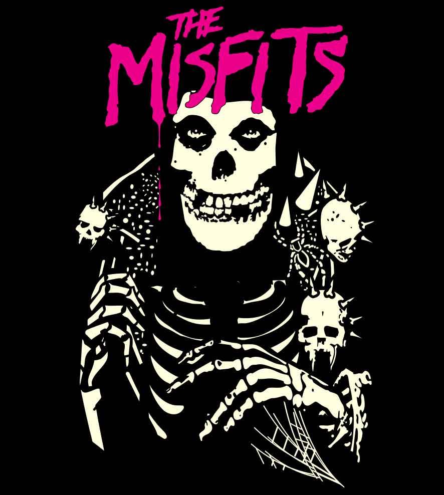 Camiseta Misfits - Feminino