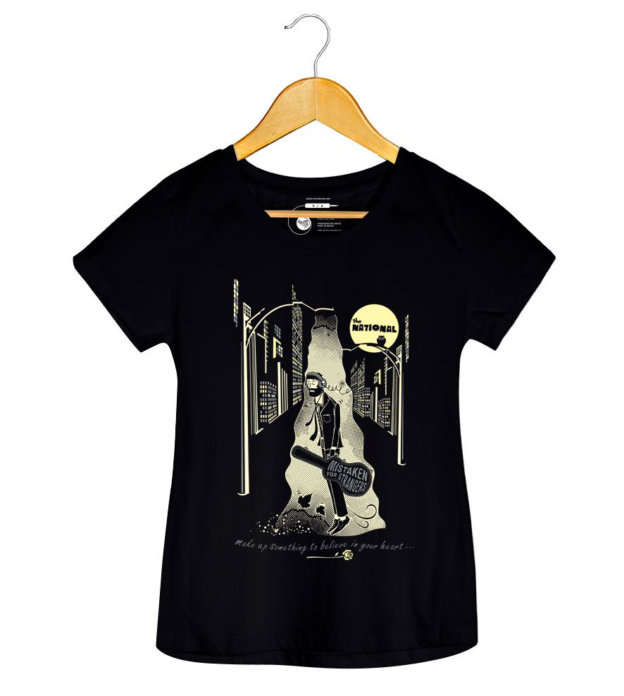 Camiseta - Mistaken For Strangers - The National - Feminino
