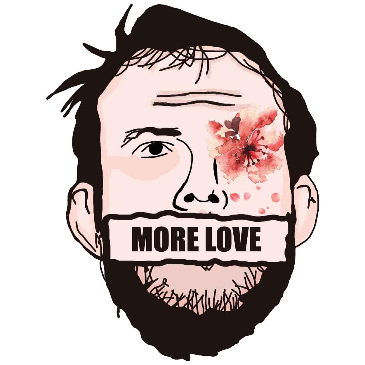 Camiseta More Love - Bon Iver - Feminino