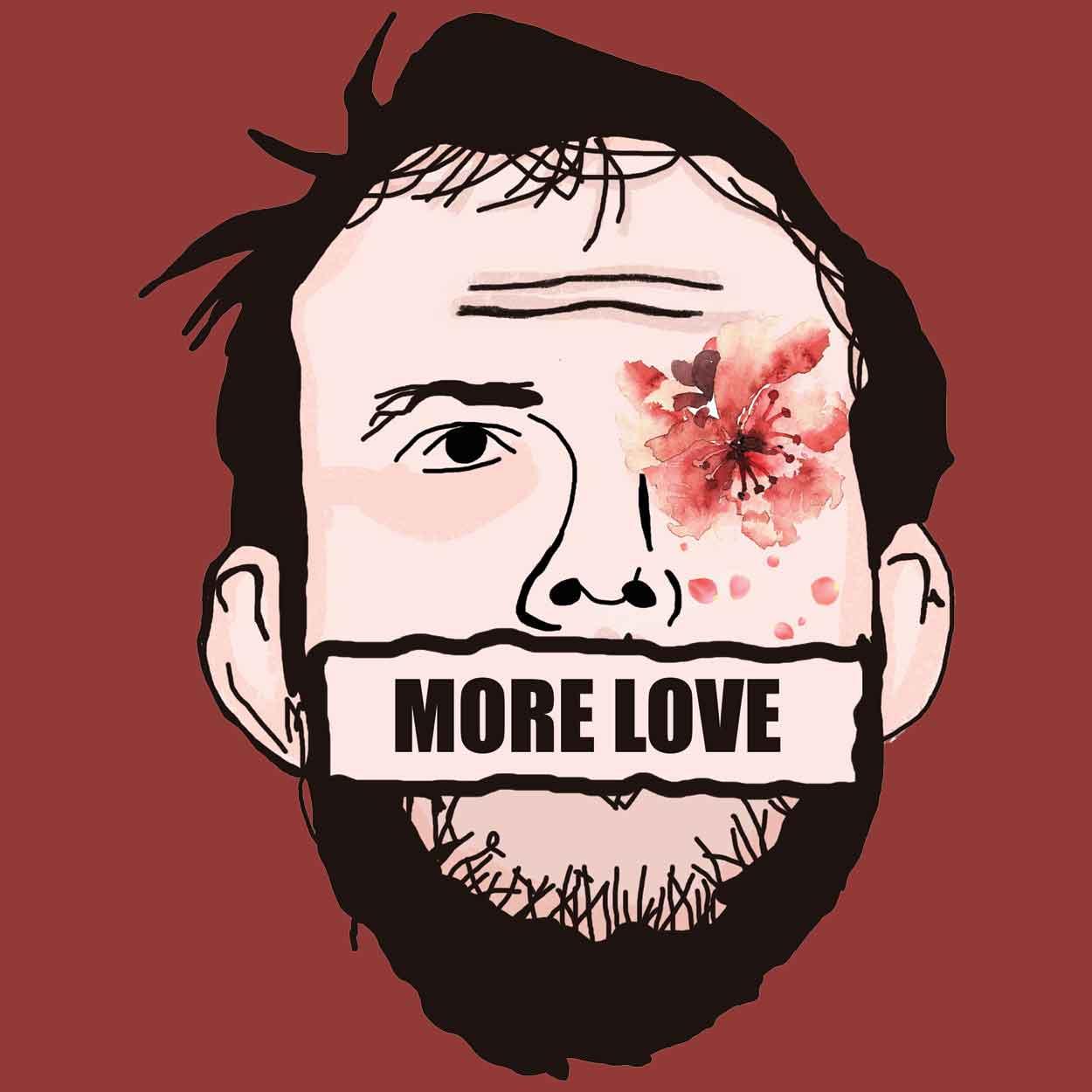 Camiseta More Love - Bon Iver - Masculino