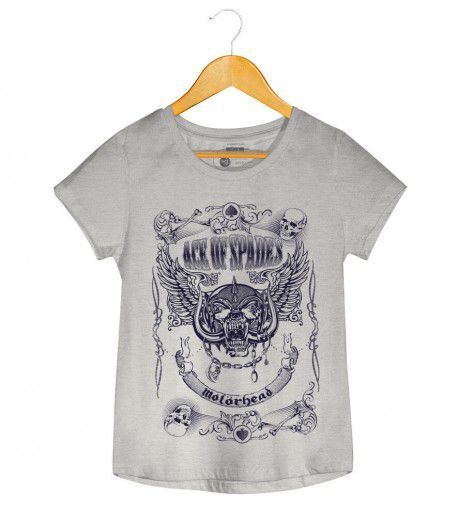Camiseta - Ace Of Spades - Motorhead - Feminino