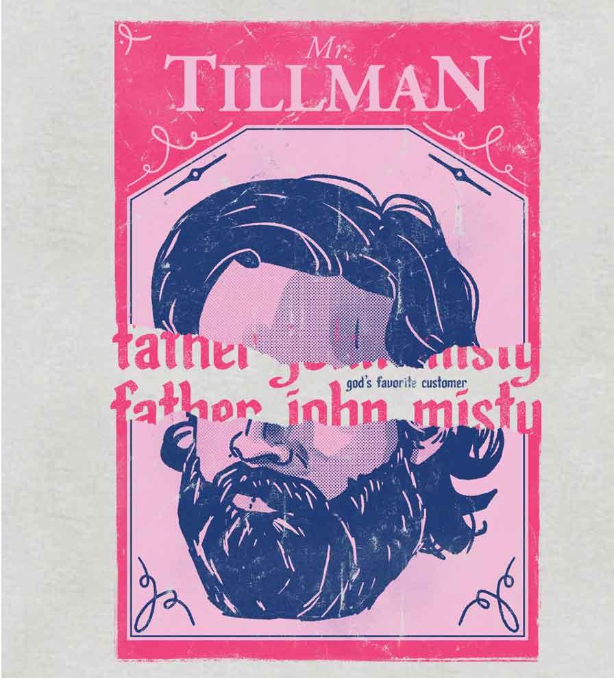 Camiseta - Mr. Tillman - Father John Misty - Masculino