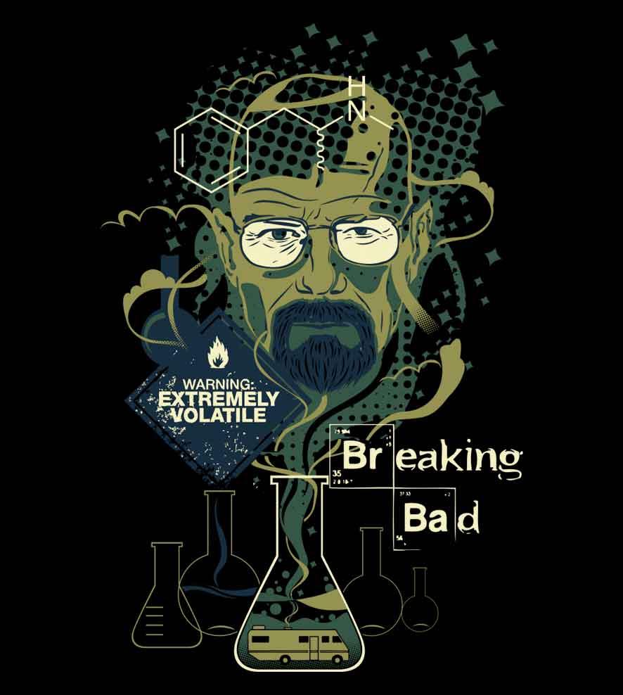 Camiseta Mr. Walter White -  Breaking Bad  - Masculino