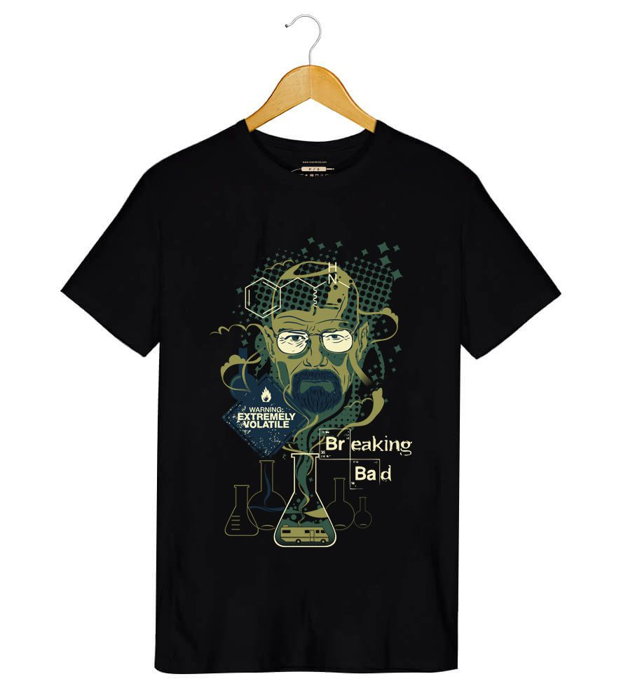 Camiseta - Mr. Walter White -  Breaking Bad  - Masculino
