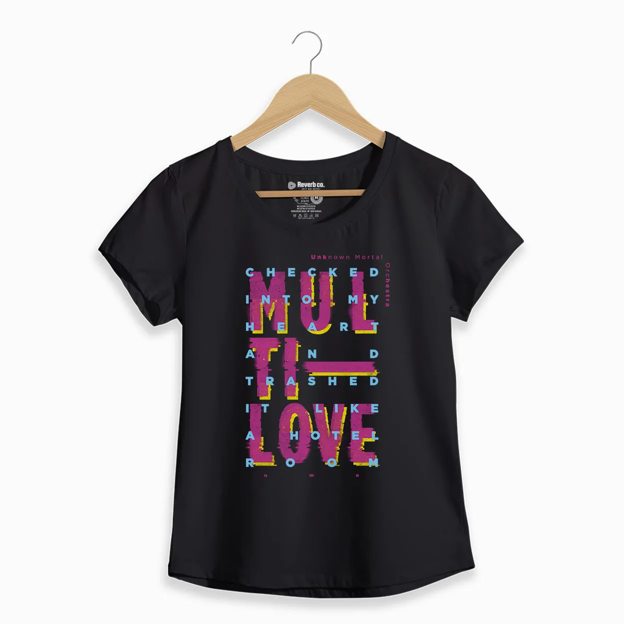 Camiseta  - Multi-Love - UMO - Feminino