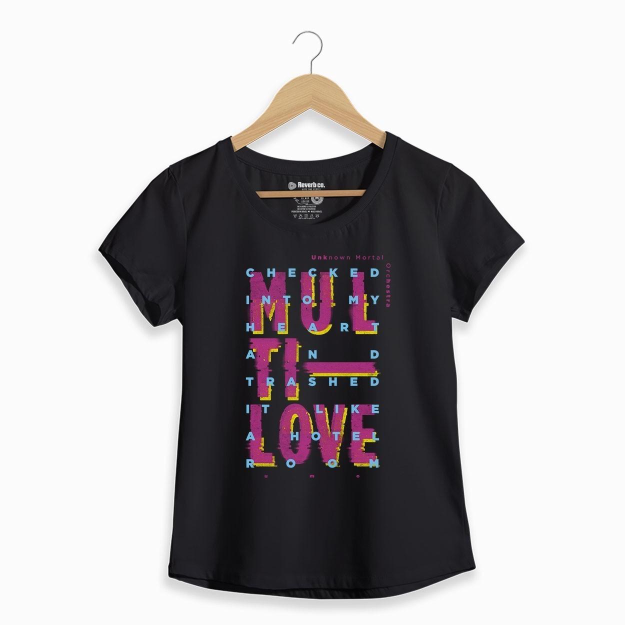 Camiseta Multi-Love - UMO - Feminino