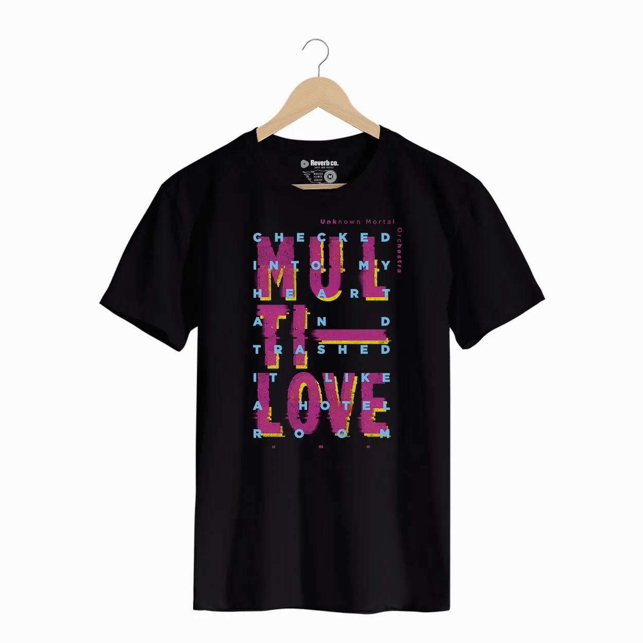 Camiseta -  Multi-Love - UMO - Masculino