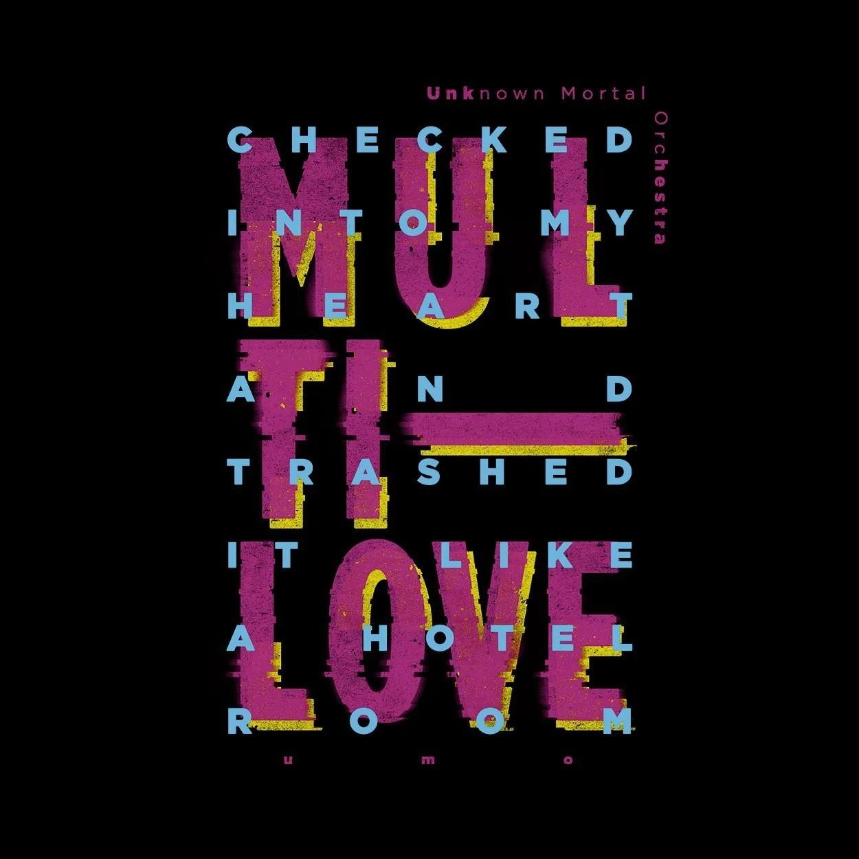 Camiseta Multi-Love - UMO - Masculino