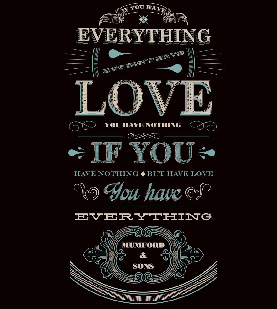Camiseta Mumford and Sons - Everything - Feminino
