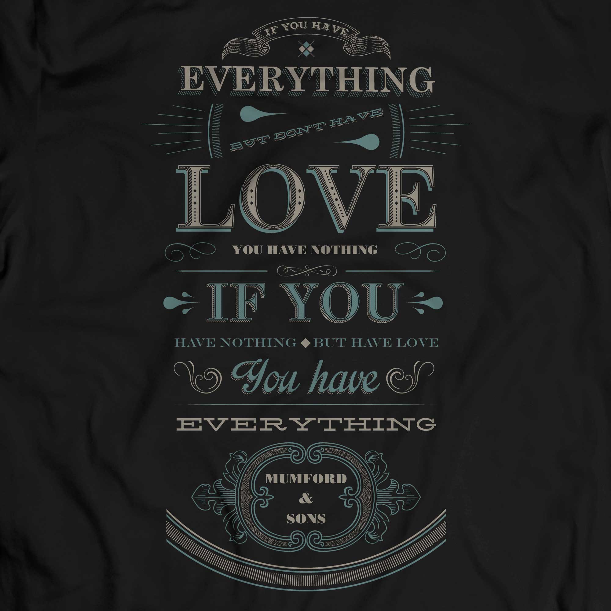 Camiseta Mumford and Sons - Everything - Masculino