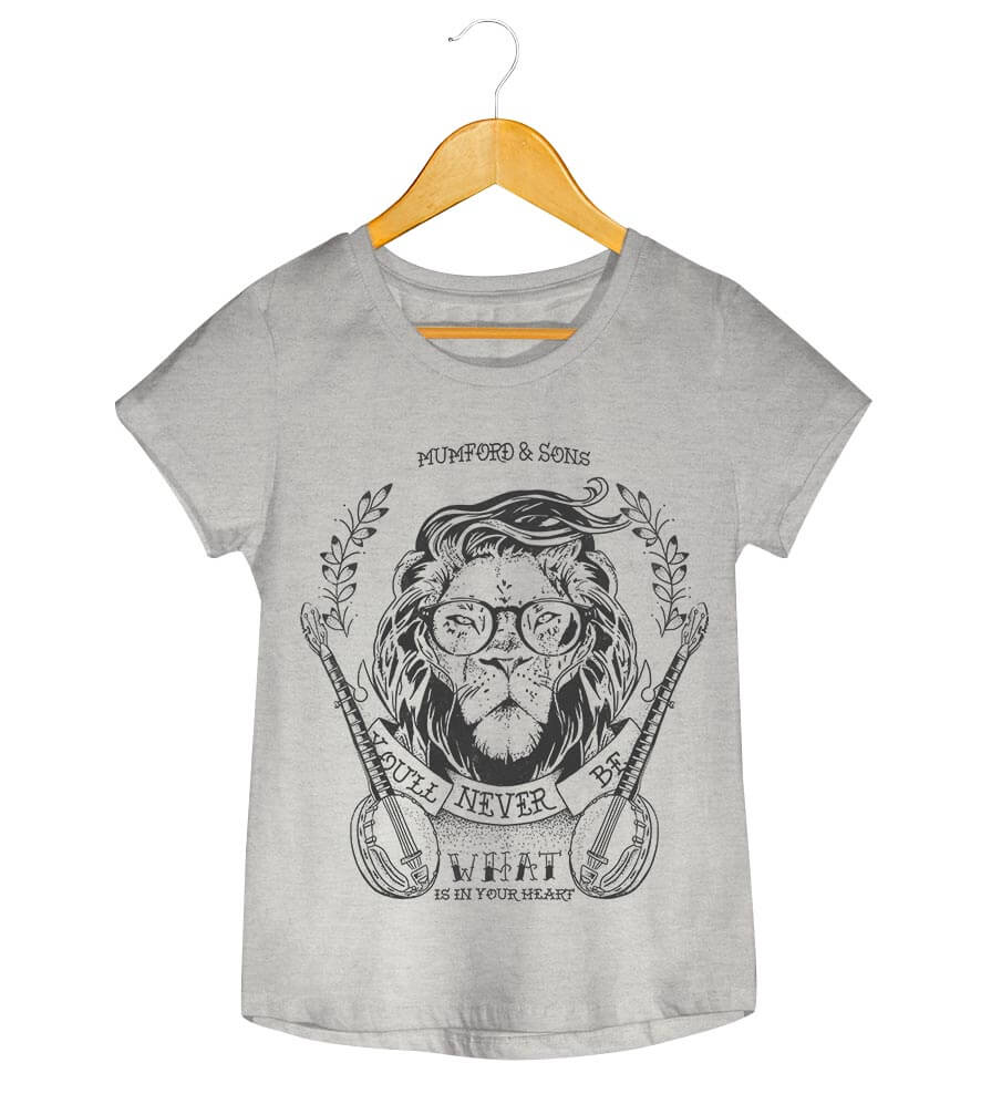 Camiseta - Mumford and Sons - Little Lion Man - Feminino