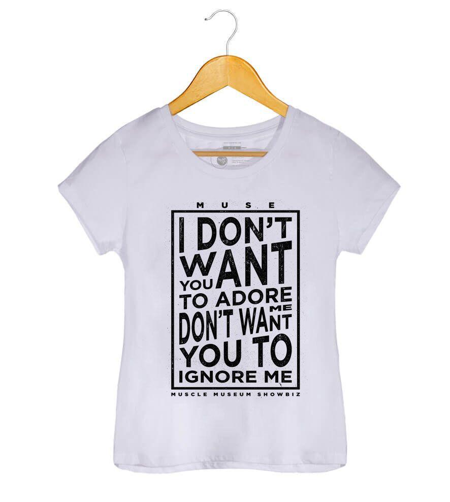 Camiseta - Muscle Museum - Muse - Feminino
