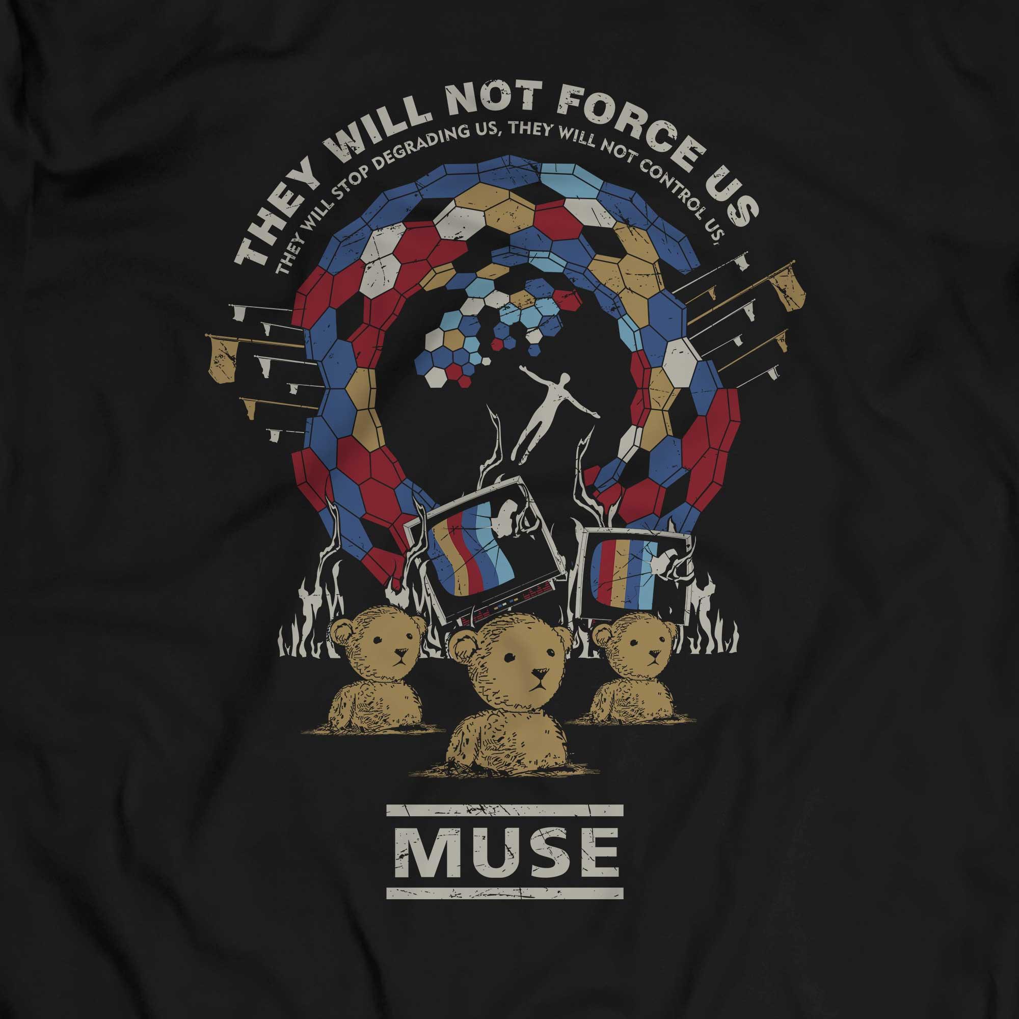 Camiseta Muse - Uprising - Masculino